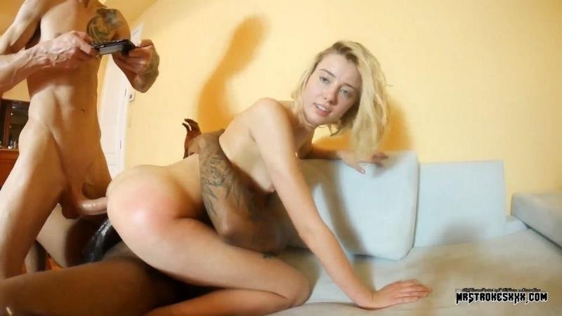 First DP (MrStrokesXXX) [SD 540p] (330 MB) Haley Reed