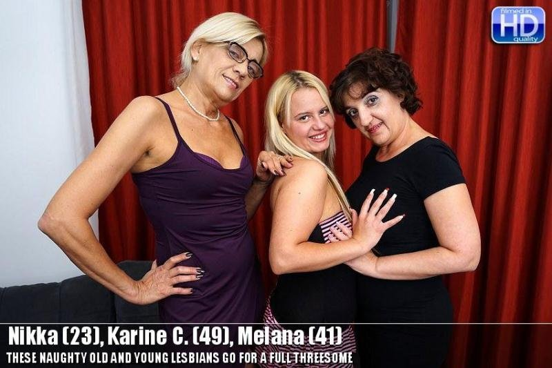 Lesbian Alex 364 (Old-and-Young-Lesbians, Mature) [SD 406p] (211 MB) Nikka (23), Karine C. (49), Melana (41)