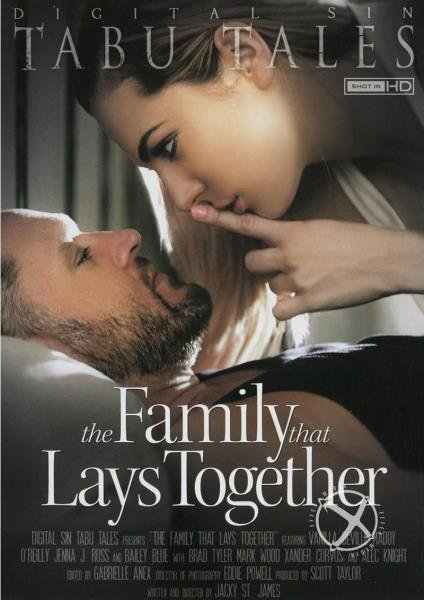 The Family That Lays Together (Alex Knight, Mark Wood, Vanilla Deville, Xander Corvus, Bailey Blue, Maddy O`reilly, Jenna J Ross, Brad Tyler) [SD] (843 MB)
