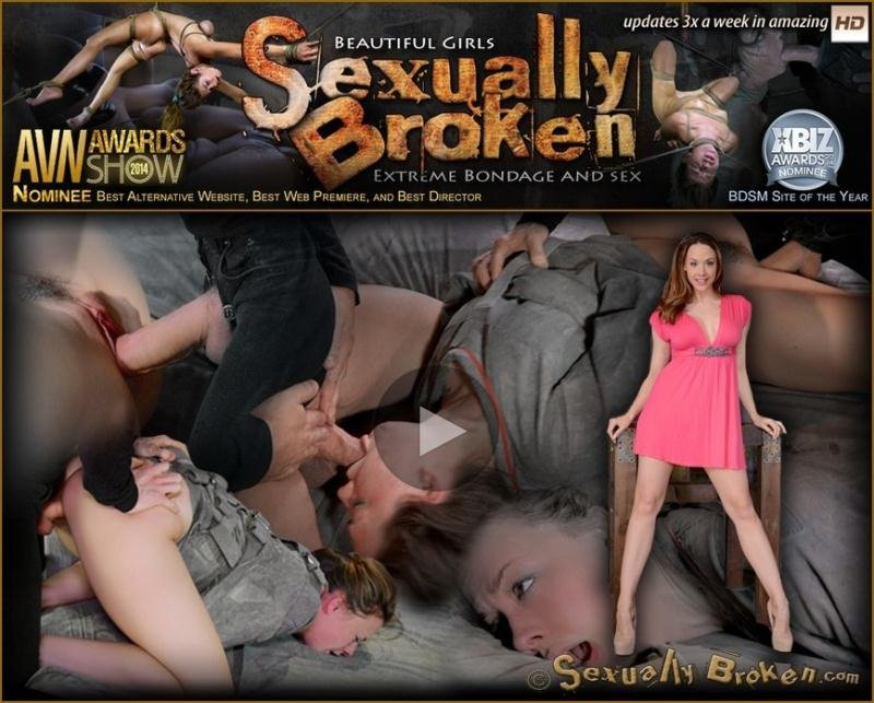 Chanel Preston tagteamed by dick, ragdoll fucked while straightjacketed, brutal epic deepthroat! (SexuallyBroken) [HD 720p] (975 MB) Chanel Preston