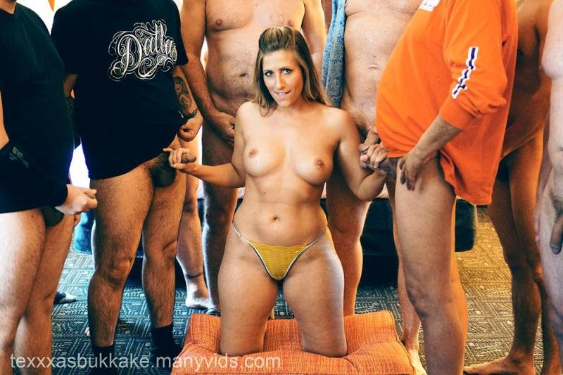 1st Gangbang and Bukkake (TexasBukkake.com) [HD 720p] (1.69 GB) Rachel Rayye
