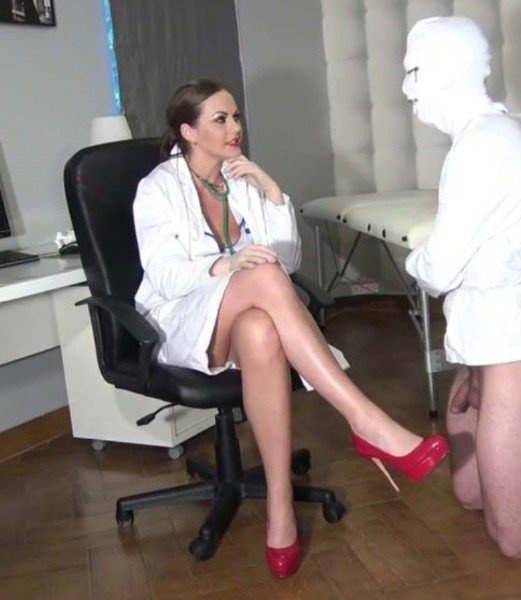 Doctor gives cock therapy (Mistress) [HD] (366 MB)