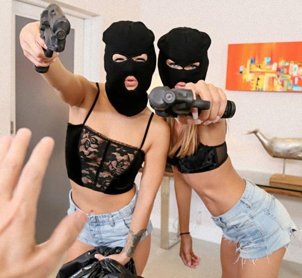 Prank Whores Sexy Robbery (Charity Crawford, Evelin Stone) [HD] (512 MiB)