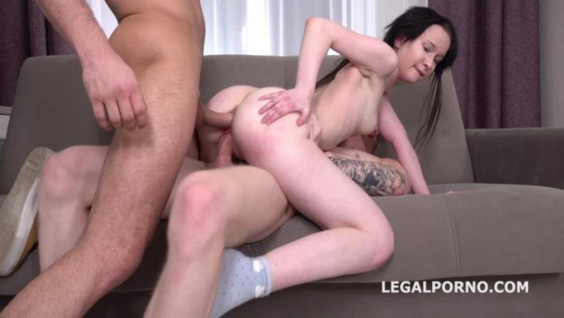 Sweetie Plum - Sweetie Plum First Time DP with Rough Action, Balls Deep Anal, Gapes and Facial! ( 2020/LegalPorno.com/SD)