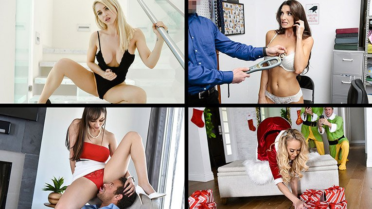 Gia Milana, Brandi Love, Lexi Luna, Silvia Saige, etc - Best of December 2019 Compilation! ( 2020/MylfSelects.com/SD)