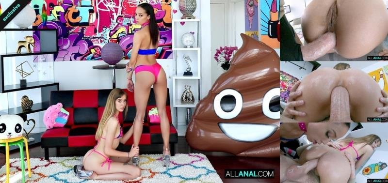 Haley Reed, Alexis Tae - Sharing Is Caring With Alexis And Haley! ( 2020/AllAnal.com/SD)